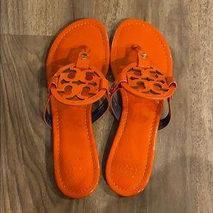 Tory Burch MILLER flip flops 🧡